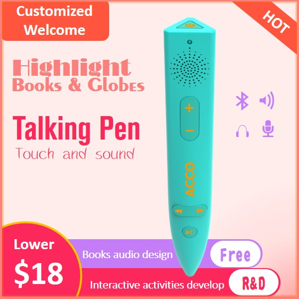 2020 Custom Talking Pen, Electronic reading pen,OID pen Featured Image