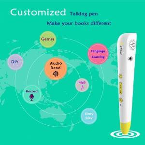 Hotsale OId Language Learning Reading Pen, OEM / ODM fabbrica