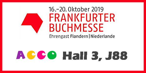 ACCO TECH Exhibit on Frankfurt Buchmesse (Germany), Oct. 16-20, 2019