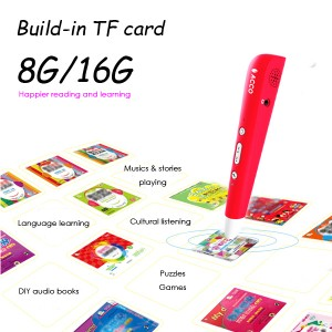 The Learning Journey  reading & Learn, Classic children books audio reader, Oid Smart Talking Pen, Multifunction