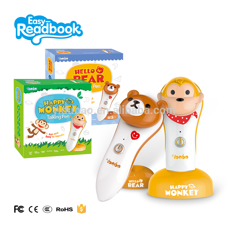 Book reader pen for children, powerful study helper for learning Arabic English language
