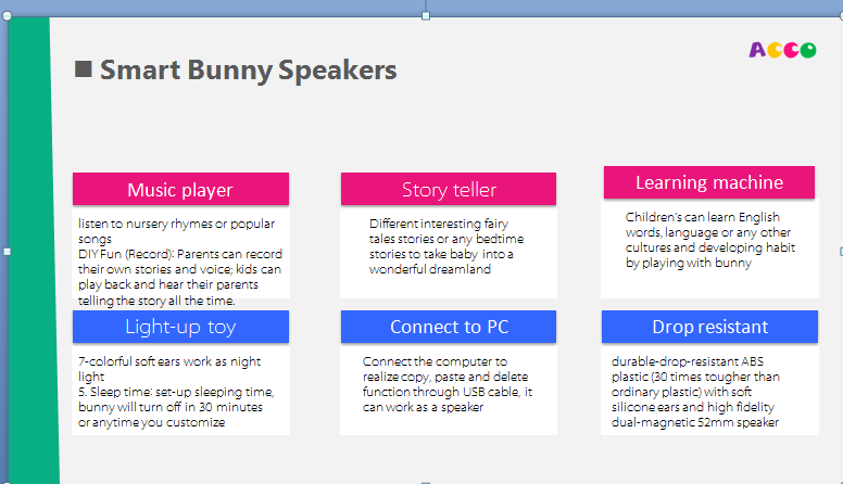 smart bunny speakers