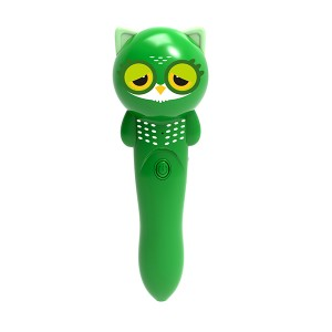 magic music and story player with learning tools green