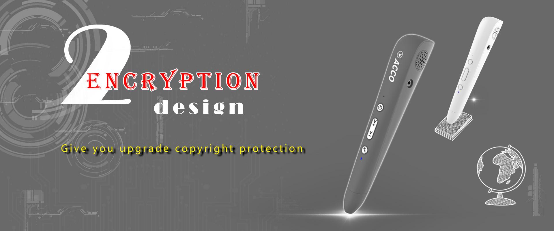 Acco talking pen encryption