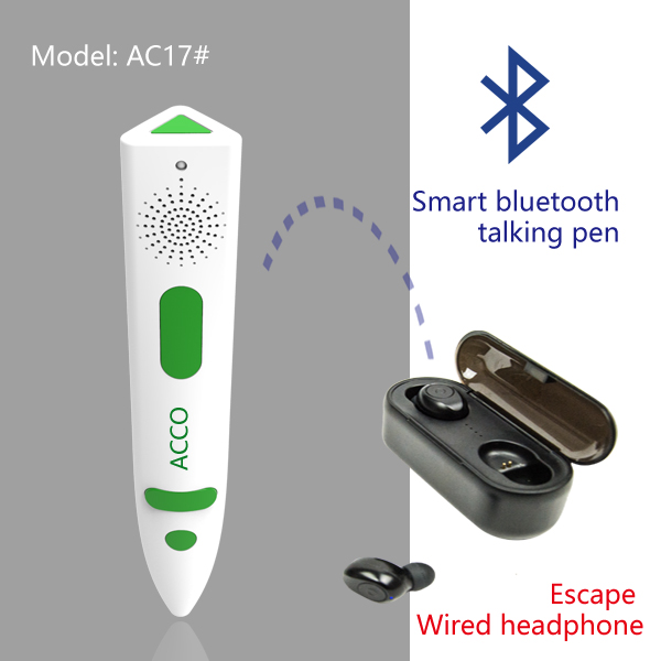 New Bluetooth talking pen, escape wired earphone Featured Image