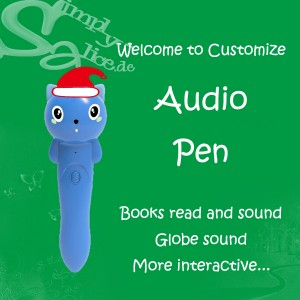 Interactive World Globe with Stand and Smart Pen, Solution development & ODM welcome